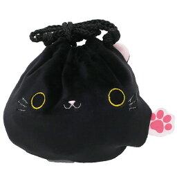 貓米粉團腰包omochikinchaku門kuro三英貿易17.5*15cm小袋子喜愛的商品郵購電影收集