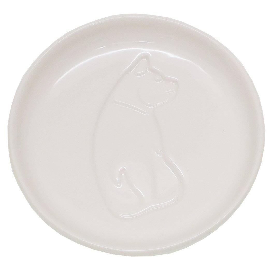 イヌ 小皿 醤油皿 振り向く アルタ 直径9cm おもしろ雑貨 プチギフト グッズ 通販 【あす楽】シネマコレクション【ママ割】 エントリーで3倍 5/13まで