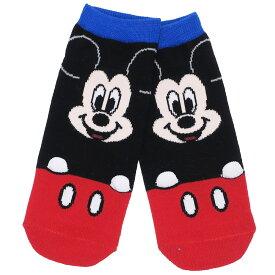 fadc731587b0d6 ミッキーマウス 女性用 靴下 レディース 手付き ソックス フェイス ディズニー スモールプラネット 22〜24cm ファッション