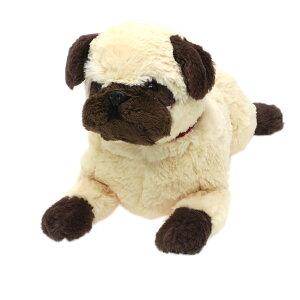 パグ ベージュ ぬいぐるみ ひざわんこ 犬 サンレモン かわいい ギフト 雑貨 どうぶつ グッズ 通販 シネマコレクション