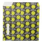 ポチ袋 長札 金封 L 3枚セット SMILE BLACK オクタニコーポレーション おとしだま袋 封筒 お…
