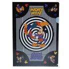 ミッキーマウス ミニ ファイル A5 シングル クリアファイル ゲームボード02 ディズニー スモ…