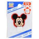 ミッキーマウス ネームワッペン 名札つけアップリケ フェイス ディズニー パイオニア 入園入…