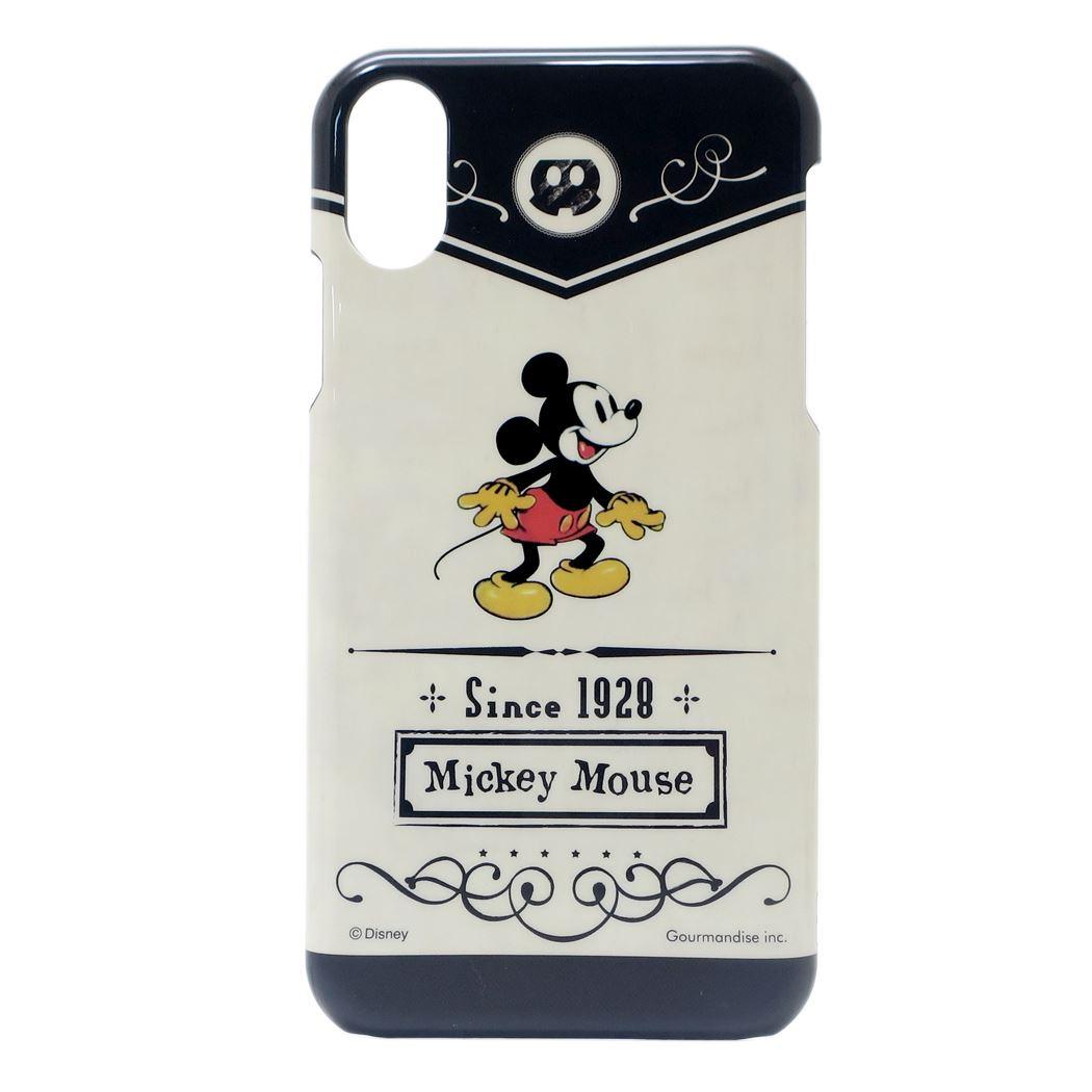 ミッキーマウス iPhone XR ケース アイフォン XR ハードカバー ディズニー グルマンディーズ 6.1インチモデル アイフォーンテンアールジャケット キャラクター グッズ 通販 【メール便可】【あす楽】シネマコレクション