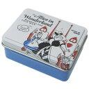 ふしぎの国のアリス クリップ 缶入りダブルクリップ8個入り フェイス ディズニー デルフィーノ 文具 事務用品 キャラ…