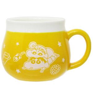 クレヨンしんちゃん マグカップ 陶器製MUG しんのすけとひまわり スモールプラネット かわいい ギフト 雑貨 アニメキャラクター グッズ 通販 シネマコレクション 2010aw-cpks