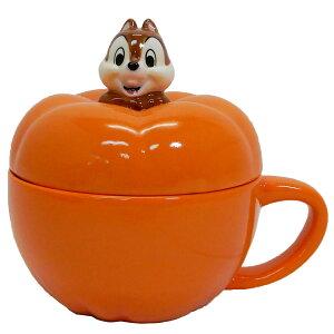 チップ&デール ふた付きマグカップ かぼちゃスープカップ Chip ディズニー サンアート 230ml ギフト食器 キャラクター グッズ 通販 シネマコレクション