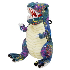 ザウルス ポーチ ぬいぐるみポーチ オーロラ 恐竜 ユニック 原宿系ファッション ギフト 雑貨 おもしろZAKKA グッズ 通販 シネマコレクション