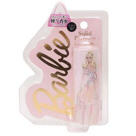 バービー 練り香水 ソリッドパフュームスティック ピンク イノセントフルール Barbie SHO-BI フレグランス ギフト 雑貨 キャラクター グッズ 通販 シネマコレクション