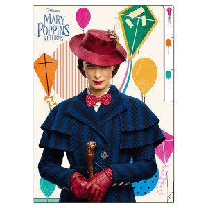メリーポピンズ リターンズ A4 クリアファイル 3ポケット クリアファイル ディズニー インロック 新入学新学期準備 ステーショナリー キャラクター グッズ シネマコレクション