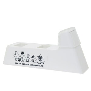 ムーミン テープカッター LaCut ラカット ホワイト 北欧 サンスター文具 新学期 雑貨 かわいい キャラクターグッズ シネマコレクション 2010aw-cpmo