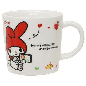 マイメロディ マグカップ 磁器製マグS お絵かき サンリオ 金正陶器 日本製 ギフト 雑貨 キャラクターグッズ シネマコレクション