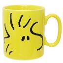 スヌーピー マグカップ ビッグフェイスMUG ウッドストック ピーナッツ 金正陶器 500ml 日本製 キャラクターグッズ通販…