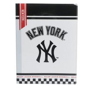 メジャーリーグベースボール ファイル 10ポケット A4 クリアファイル ニューヨークヤンキース MLB クラックス 新学期 雑貨 文具 キャラクターグッズ シネマコレクション