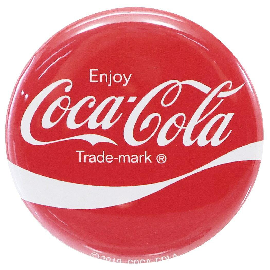 コカコーラ 缶バッジ ビッグ カンバッジ ロゴ赤 Coca-Cola LIFE STYLE 直径57mm コレクション雑貨 キャラクターグッズ通販 【メール便可】【あす楽】シネマコレクション