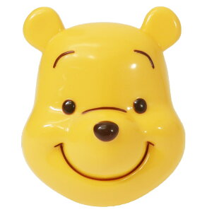 くまのプーさん ヘアブラシ エッグ型 ヘアケア用品 ディズニー SHO-BI ギフト 雑貨 かわいい キャラクターグッズ シネマコレクション