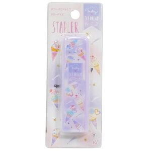 MELTY ICE DREAM ステープラー コンパクト ホッチキス カミオジャパン 新学期 準備 雑貨 かわいい プチギフトグッズ シネマコレクション