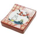 ミッフィー 箸置き 九谷焼 赤絵 ディックブルーナ 金正陶器 和食器 ギフト雑貨 絵本キャラクターグッズ通販 【メール…