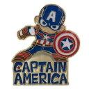 キャプテンアメリカ ピンバッジ ピンズ マーベル スモールプラネット プチギフト コレクション雑貨 キャラクターグッ…