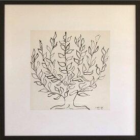 アンリ・マティス インテリア パネル Henri Matisse Le platane 美工社 52×52×3.5cm 額装品 ギフト 装飾インテリア通販 【取寄品】 【送料無料】シネマコレクション