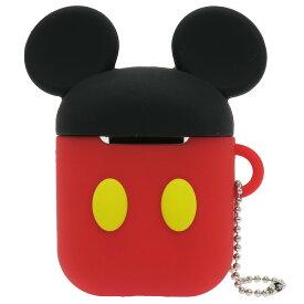 ミッキーマウス エアーポッズ ケース AirPods シリコンケース ディズニー グルマンディーズ かわいい ギフト 雑貨 キャラクターグッズ シネマコレクション