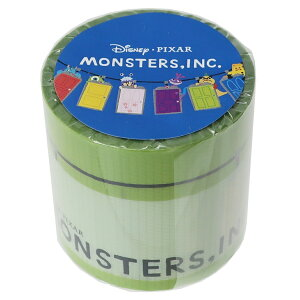 モンスターズインク 45mm デザイン 養生テープ YOJOテープ ディズニー デルフィーノ ビッグ マステ 幅広梱包テープ キャラクター グッズ 通販 シネマコレクション
