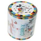 ミッキー&フレンズ 45mm デザイン 養生テープ YOJOテープ ホワイト ディズニー デルフィーノ…
