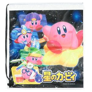 星のカービィ ビニール バッグ ポリ ナップサック いざ、冒険へ Nintendo サンアート ビーチバッグ キッズバッグ キャラクター グッズ 通販 メール便可 シネマコレクション