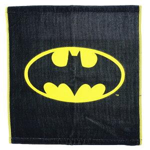BATMAN ハンドタオル ウォッシュタオル バットマン ロゴ DCコミック スモールプラネット ギフト 雑貨 キャラクターグッズ メール便可 シネマコレクション