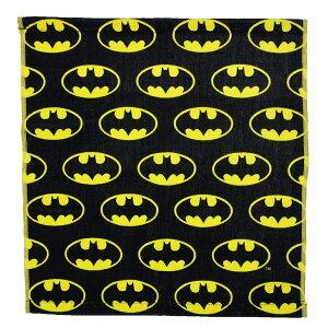 BATMAN ハンドタオル ウォッシュタオル バットマン ロゴ ちらし DCコミック スモールプラネット ギフト 雑貨 キャラクターグッズ メール便可 シネマコレクション