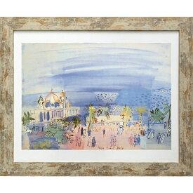 ラウル デュフィ 名画 Raoul Dufy Le casino de Nice 1934 美工社 ZFA-61802 ギフト 額付きインテリア通販 取寄品 シネマコレクション