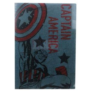 マーベル 和紙 3ポケット A4 クリアファイル ポケット ファイル キャプテンアメリカ MARVEL サンスター文具 新学期 雑貨 コレクション キャラクターグッズ [MARVELCorner] cfcp