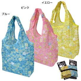 すみっコぐらし スマート エコバッグ 折りたたみ ショッピングバッグ はな サンエックス ケイカンパニー お買い物かばん キャラクターグッズ シネマコレクション