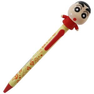 クレヨンしんちゃん ボールペン アクションボールペン しんのすけ マリモクラフト おもしろ文具 ギフト 雑貨 キャラクターグッズ シネマコレクション