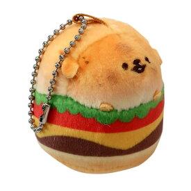 キーホルダー いーすとけん。 ぬいぐるみ マスコット トイプーバーガー 犬 カミオジャパン ミニマスコット ギフト 雑貨 キャラクターグッズ シネマコレクション