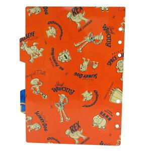 トイストーリー4 システム手帳 リフィル A5 6穴 ファイルブック用 インデックス シール台紙 2枚セット ディズニー デルフィーノ リフィル交換可 キャラクター グッズ 通販 メール便可 シネマ