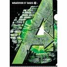 アベンジャーズ4 エンドゲーム A4 シングル クリアファイル & ステッカーセット クリアフォ…