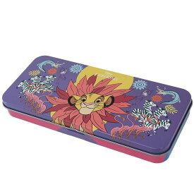 ライオンキング 缶ペンケース キャラ カンペン ディズニー スモールプラネット 筆箱 キャラクター グッズ シネマコレクション cpds
