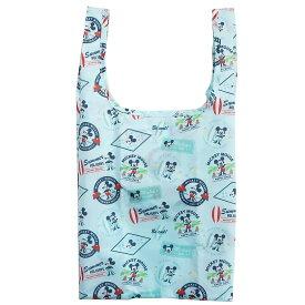 ミッキーマウス 折りたたみ エコバッグ ルーショッパーミッド DisneyB ディズニー ルートート お買い物かばん キャラクター グッズ シネマコレクション