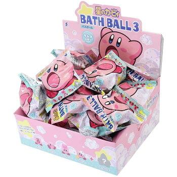 星のカービィ入浴剤マスコットが飛び出るバスボール3rdnintendoエスケイジャパン子供とお風呂キャラクターグッズシネマコレクション