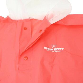ハローキティ子供用レインウェアキッズ耳付きレインポンチョサンリオジェイズプランニング雨合羽キャラクターグッズシネマコレクション
