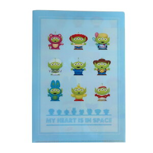 ディズニー ポケットファイル Wポケット A4 クリアファイル エイリアンリミックス トイストーリー インロック コレクション雑貨 キャラクター グッズ シネマコレクション
