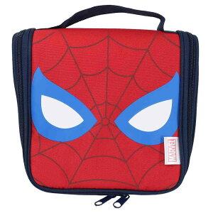 スパイダーマン 吊り下げ トラベルポーチ ハングングホルダー マーベル モリシタ 旅行用品 キャラクター グッズ シネマコレクション