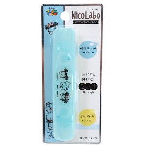 ディズニーツムツム 修正テープ & テープのり Nico Labo 2020AW ディズニー クラックス 機能性文具 キャラクター グッズ メール便可 シネマコレクション cppx-2103