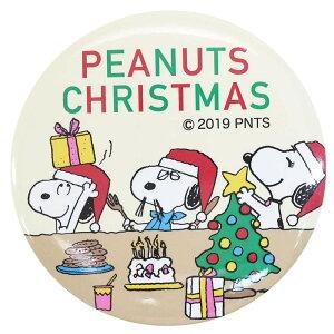 スヌーピー 缶バッジ カンバッジ L ブラザーXMAS パーティー ピーナッツ マリモクラフト クリスマスシリーズ キャラクター グッズ メール便可 シネマコレクション