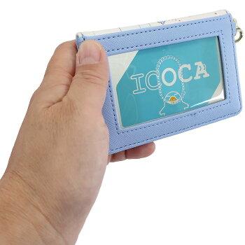 ふしぎの国のアリス定期入れ2つ折りパスケースGirlsRoomディズニーマリモクラフトICカードケースキャラクターグッズメール便可シネマコレクション