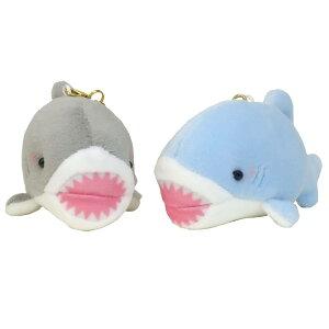 マスコット キーホルダー ニコぬい ペア ぬいぐるみ ボールチェーン 2個セット サメ クラックス プレゼント ティーンズ グッズ シネマコレクション