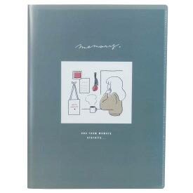 ファイル 10ポケット A4 クリアファイル コレラボ ワンルームメモリー カミオジャパン 新学期準備雑貨 女の子向け グッズ シネマコレクション