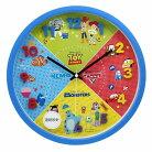 ピクサー 壁掛け時計 アイコン ウォールクロック ピクサー柄 ディズニー ティーズファクトリ…