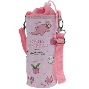 ポケモン 保温 保冷 ボトルケース ペットボトルカバー L カラーズ ピンク ポケットモンスター ティーズファクトリー ペットボトルケース アウトドア雑貨 かわいい 女の子 小学生 子ども キ